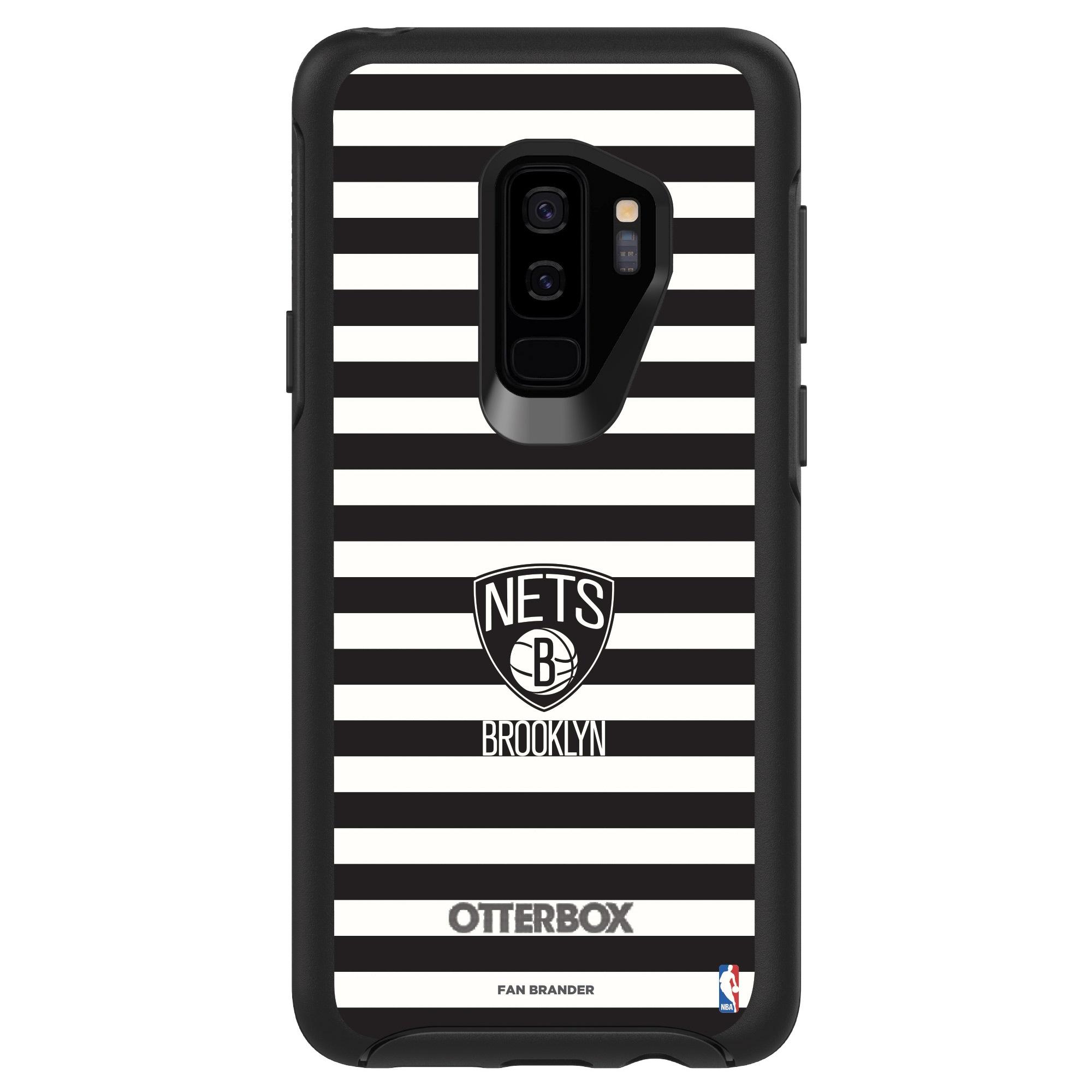 Brooklyn Nets OtterBox Galaxy Symmetry Striped Design Case