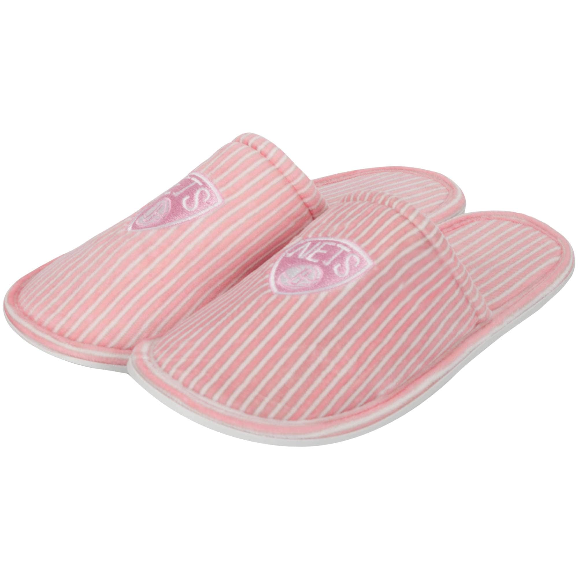 Brooklyn Nets Women's Slide Slipper - Pink