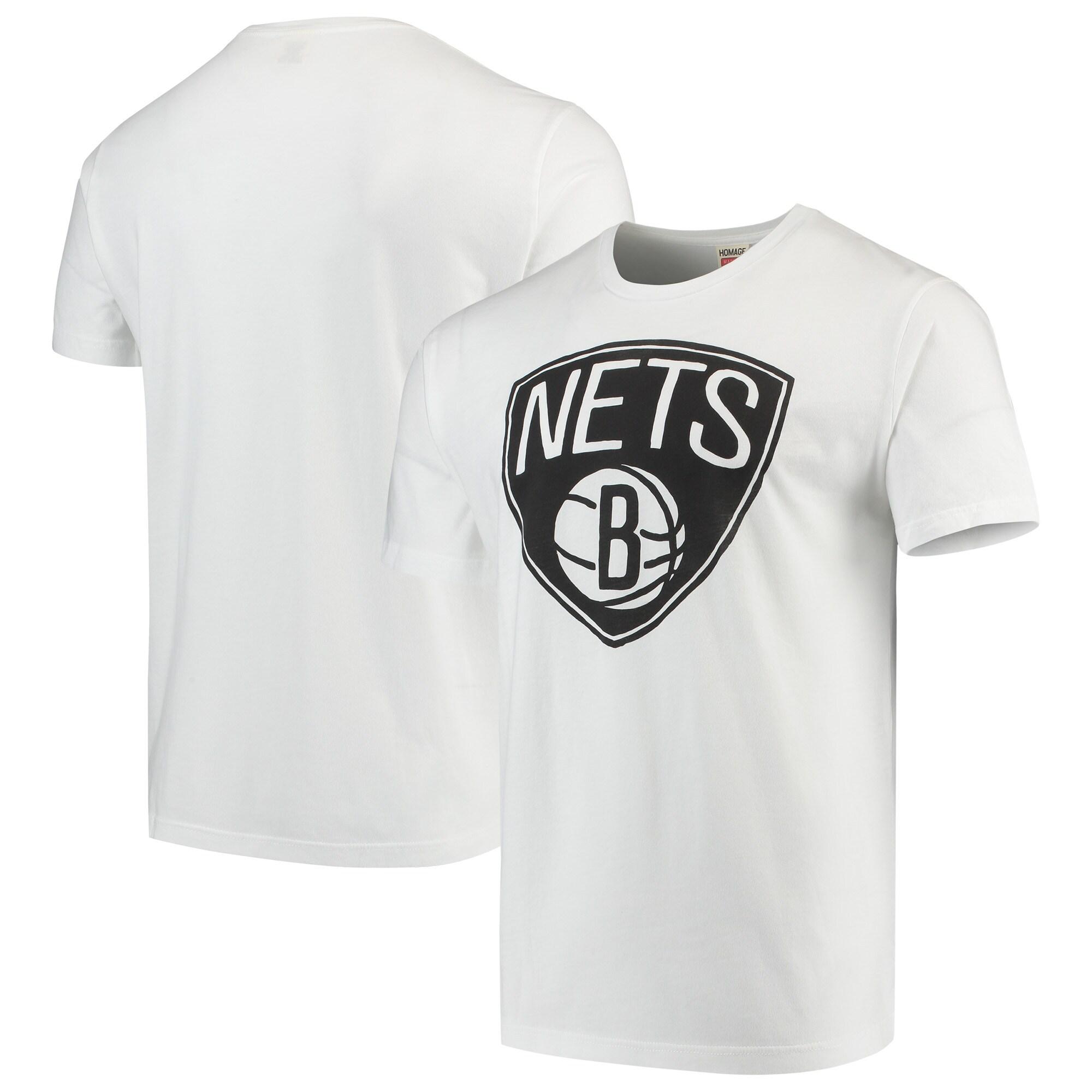 Brooklyn Nets Team T-Shirt - White