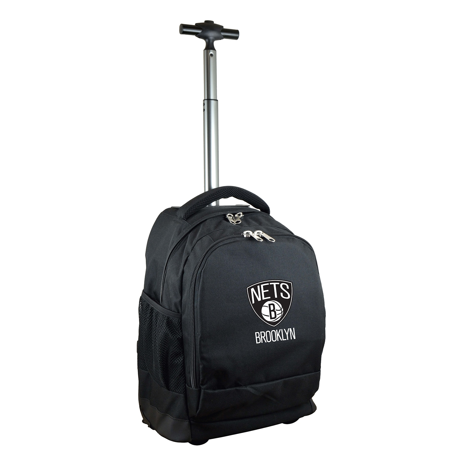 Brooklyn Nets 19'' Premium Wheeled Backpack - Black