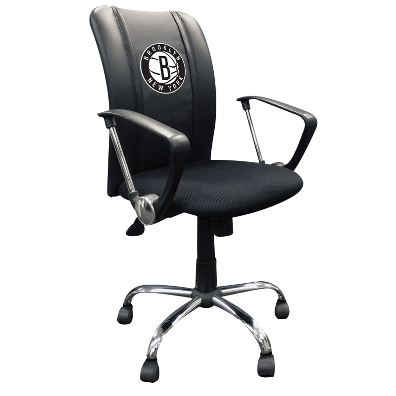 Brooklyn Nets DreamSeat Secondary Logo Curve Office Chair