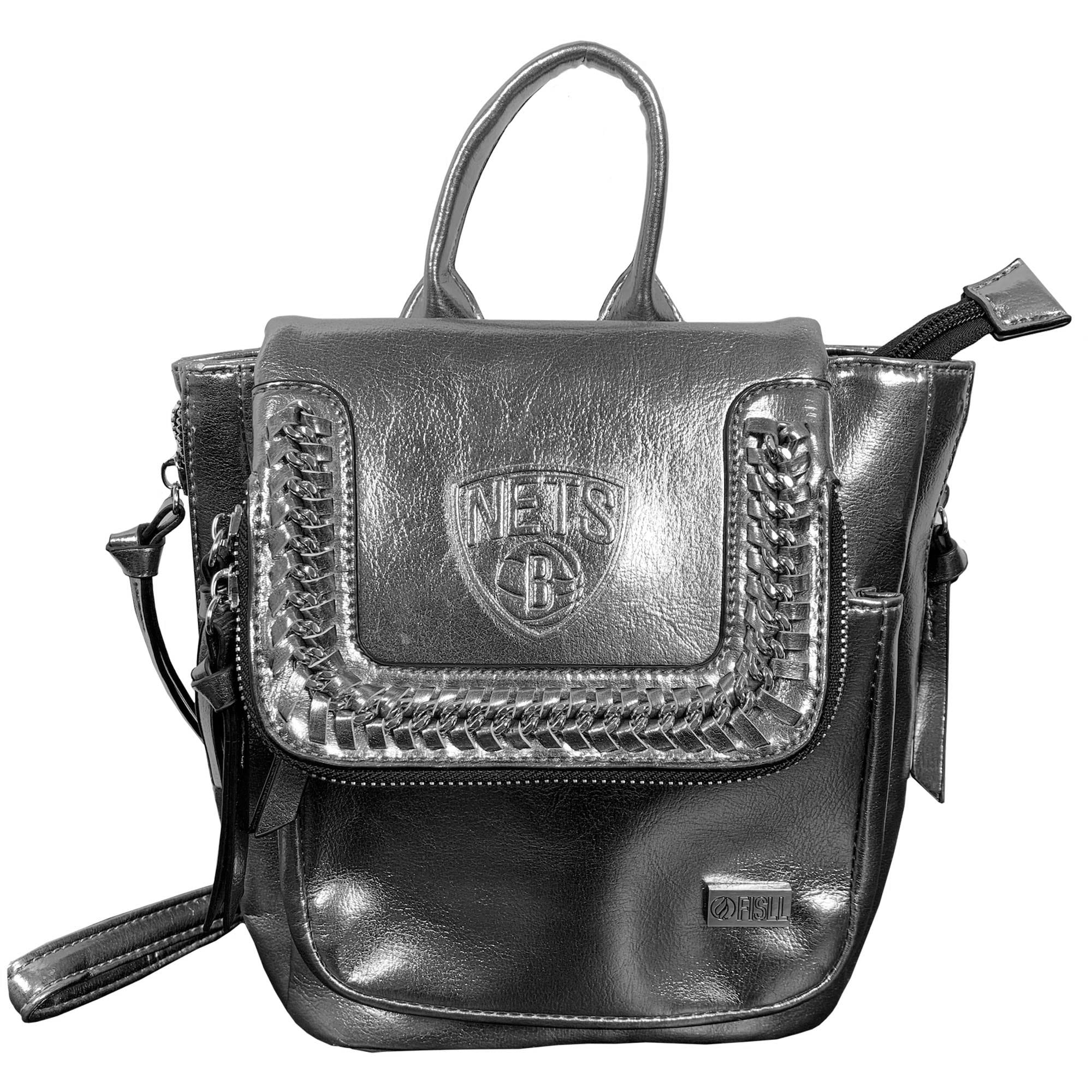 Brooklyn Nets Metallic Mini Backpack