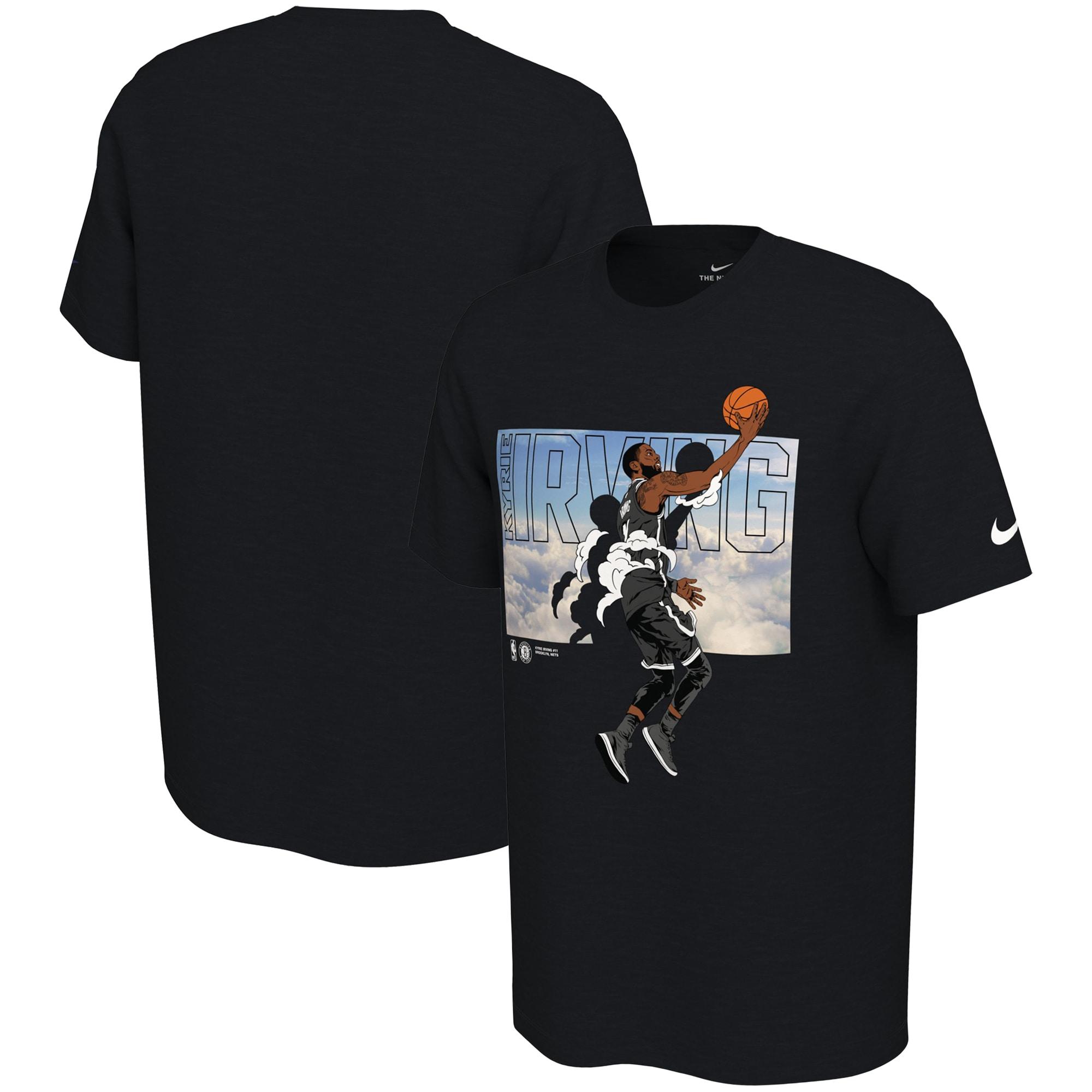 Kyrie Irving Brooklyn Nets Nike Elevation T-Shirt - Black