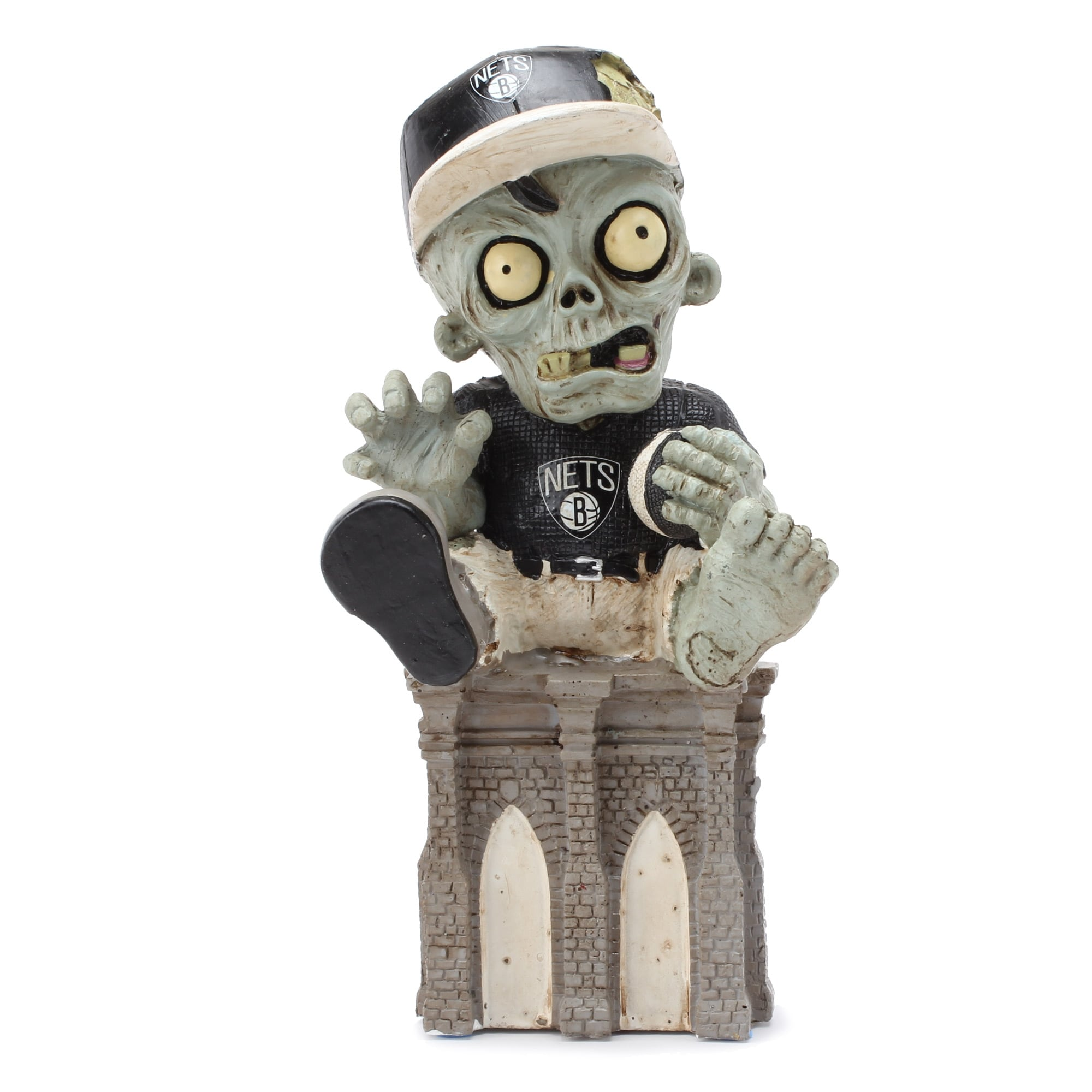 Brooklyn Nets Thematic Zombie Figurine Gnome