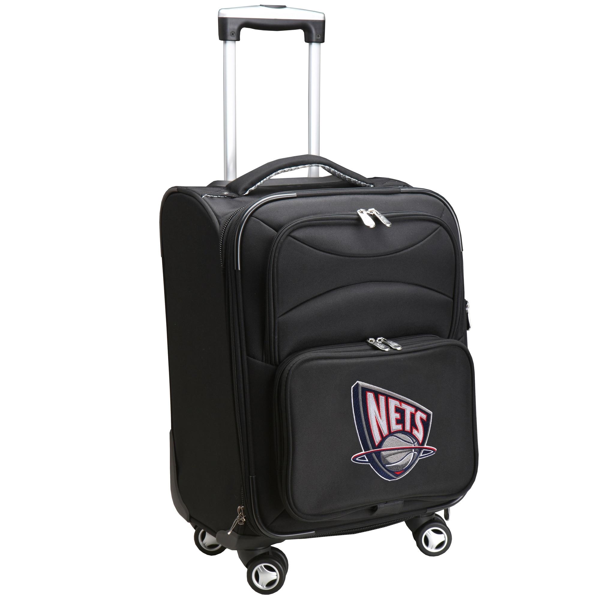 "Brooklyn Nets 20"" Spinner Rolling Bag - Black"