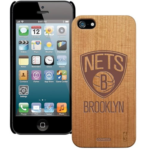 Brooklyn Nets Wooden iPhone 5 Primary Case