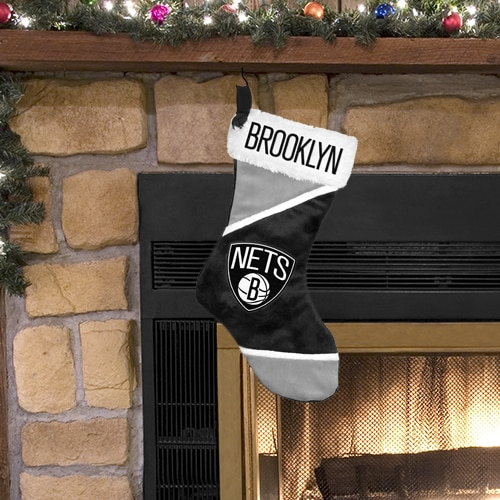 Brooklyn Nets Colorblock Holiday Stocking
