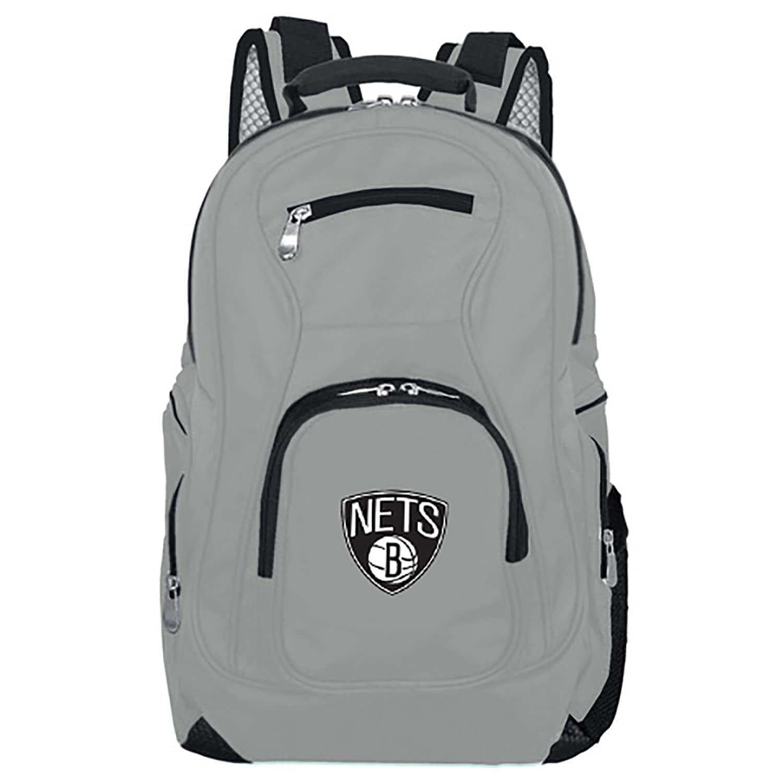 Brooklyn Nets Backpack Laptop - Gray