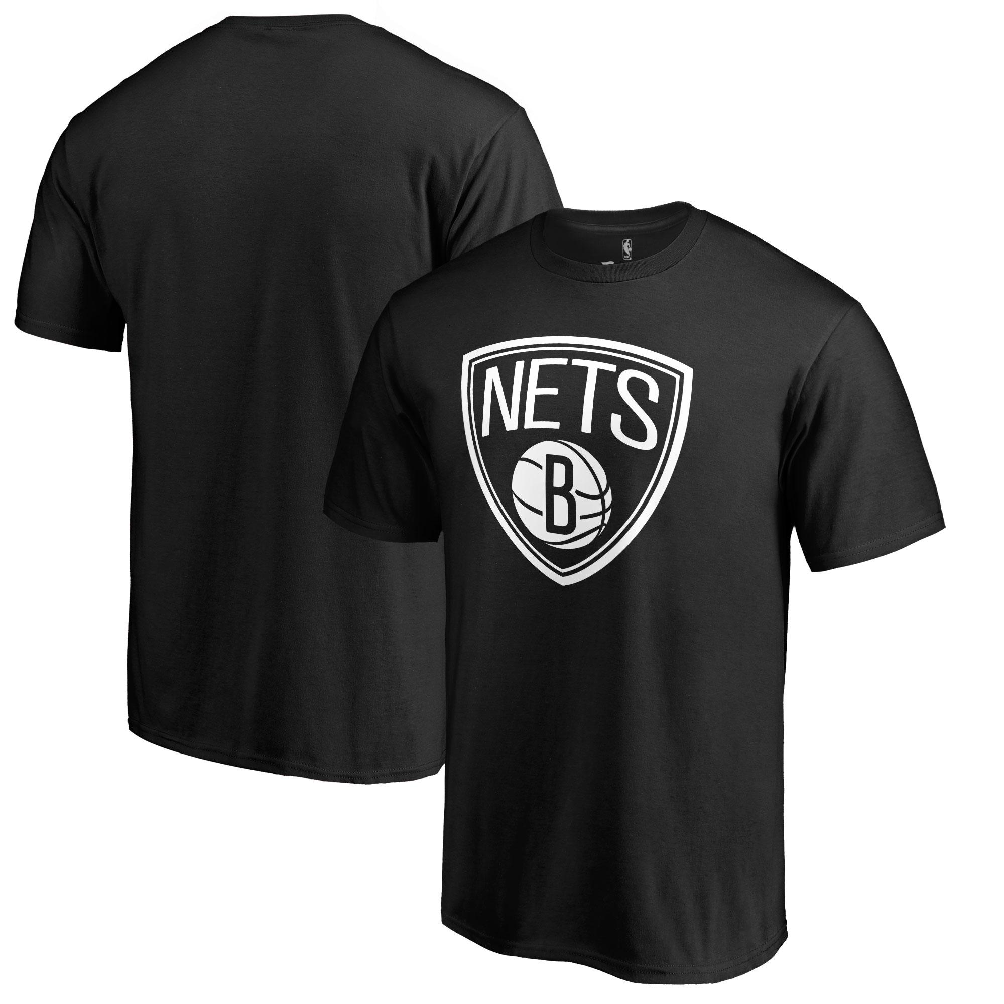 Brooklyn Nets Fanatics Branded Big & Tall Taylor T-Shirt - Black