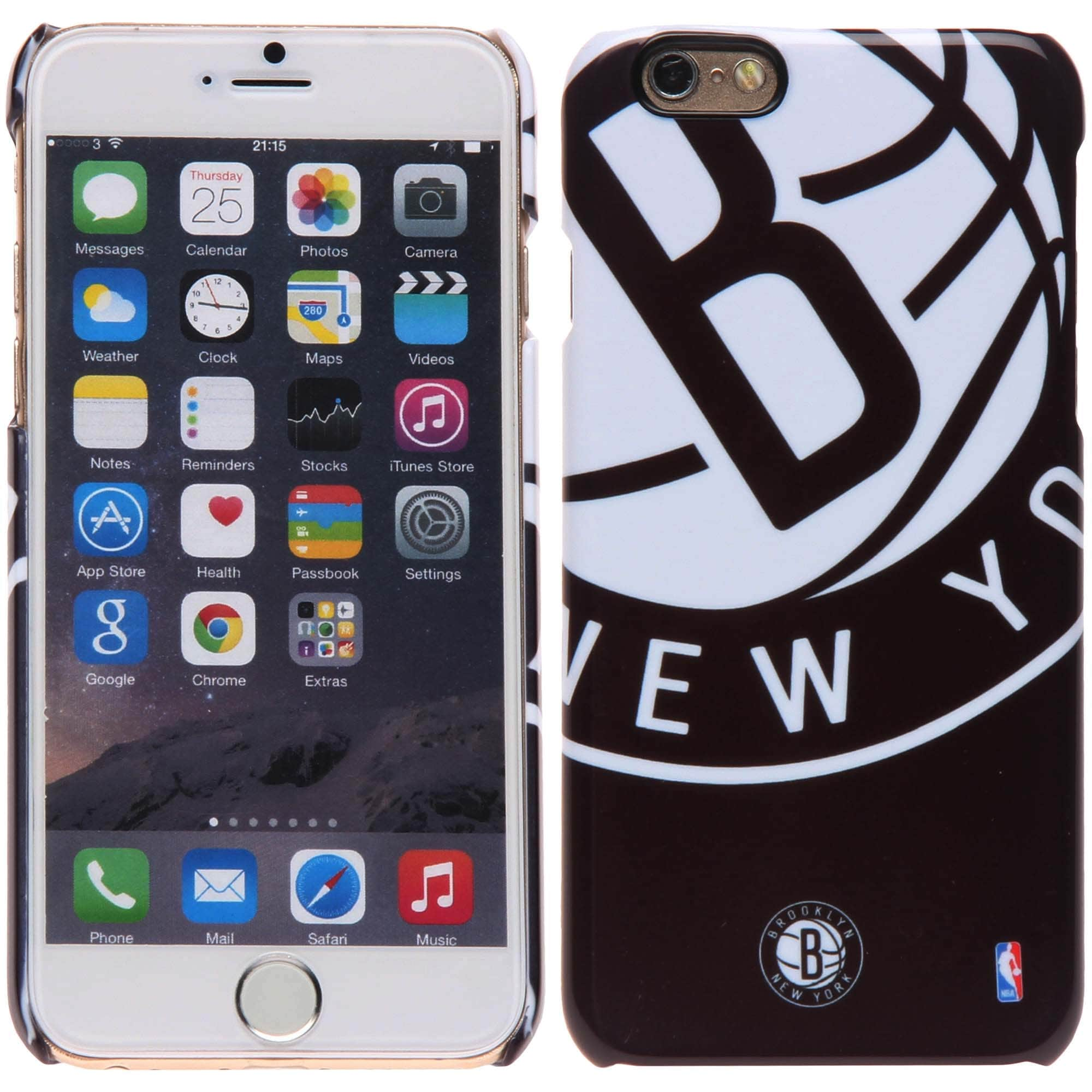Brooklyn Nets iPhone 6 XXL Graphic Cell Phone Case