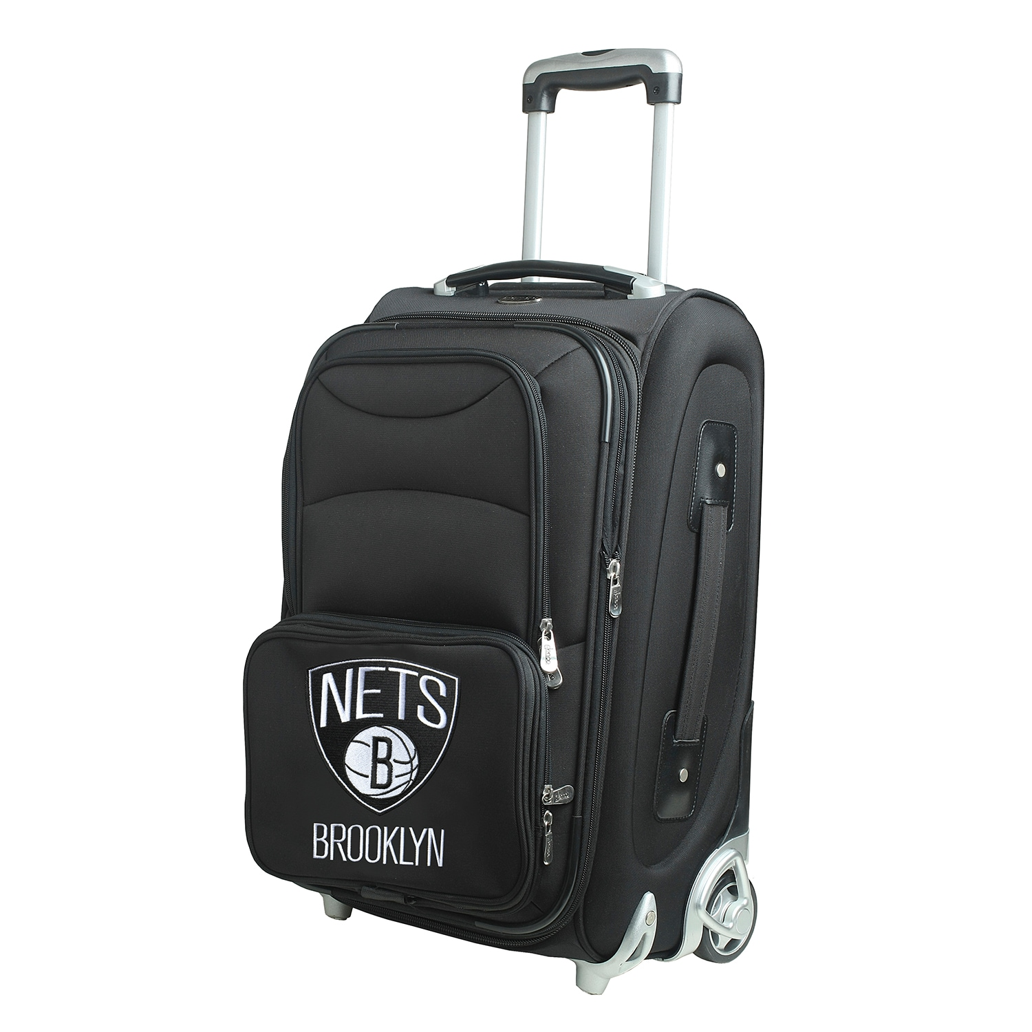 """Brooklyn Nets 21"""" Rolling Carry-On Suitcase"""