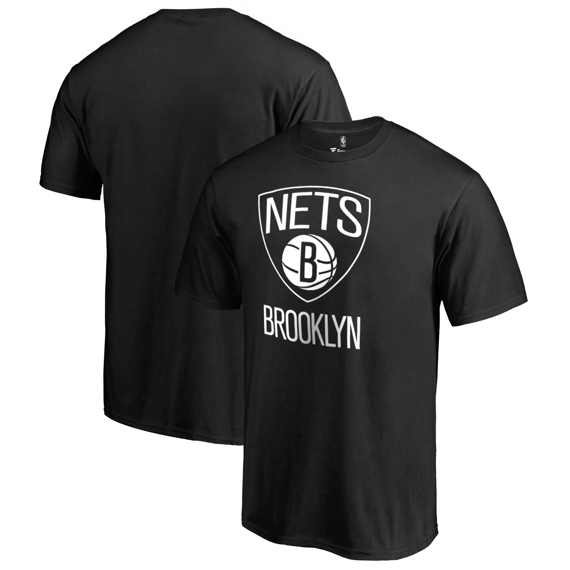 Brooklyn Nets Fanatics Branded Big & Tall Primary Logo T-Shirt - Black
