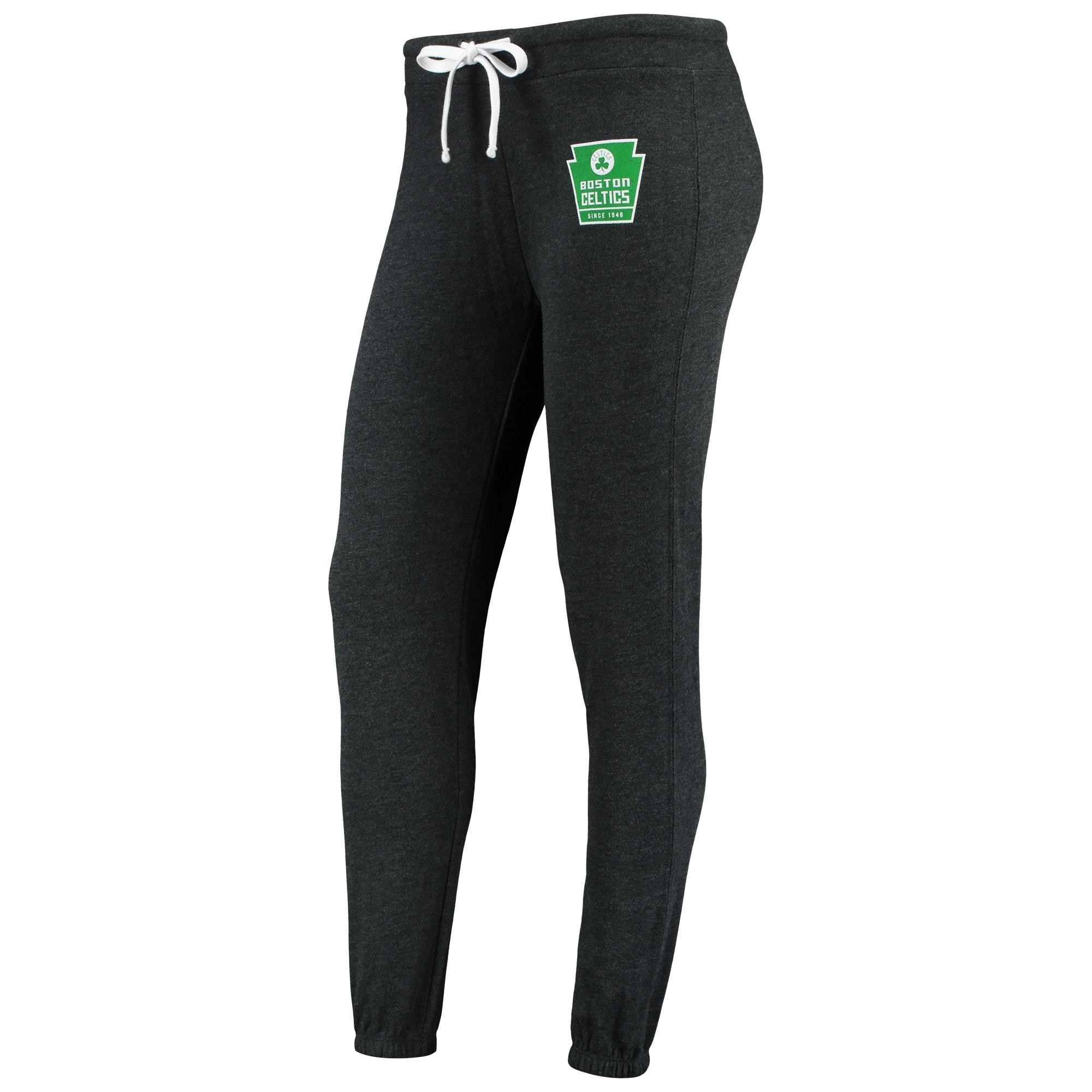 Boston Celtics Sportiqe Women's Dundee Classic Sweatpants - Black