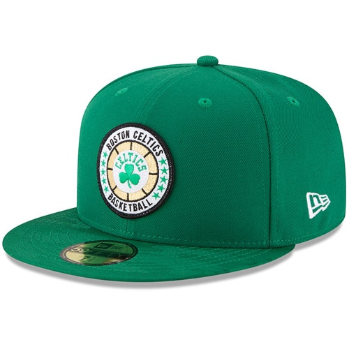 Boston Celtics New Era 2018 Tip-Off Series 59FIFTY Fitted Hat - Kelly Green