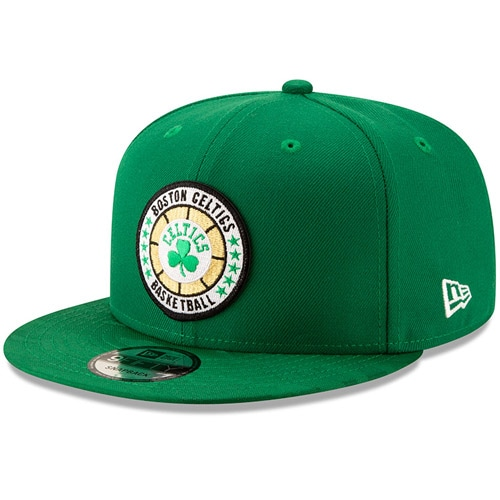 Boston Celtics New Era 2018 Tip-Off Series Team 9FIFTY Adjustable Hat - Kelly Green