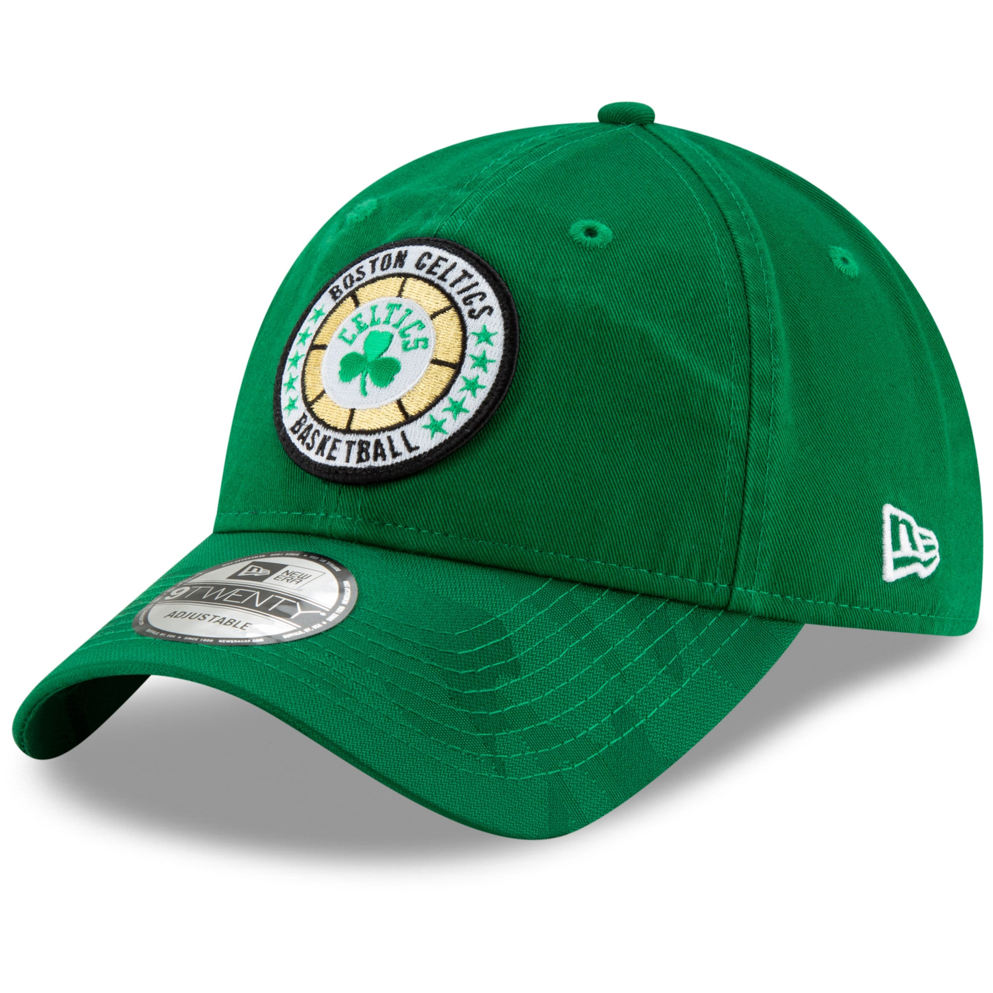 Boston Celtics New Era 2018 Tip-Off Series 9TWENTY Adjustable Hat - Kelly Green