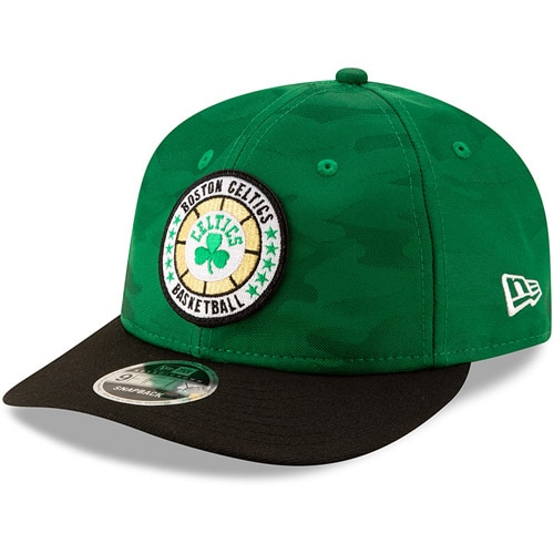 Boston Celtics New Era 2018 Tip-Off Series Retro 9FIFTY Adjustable Hat - Kelly Green