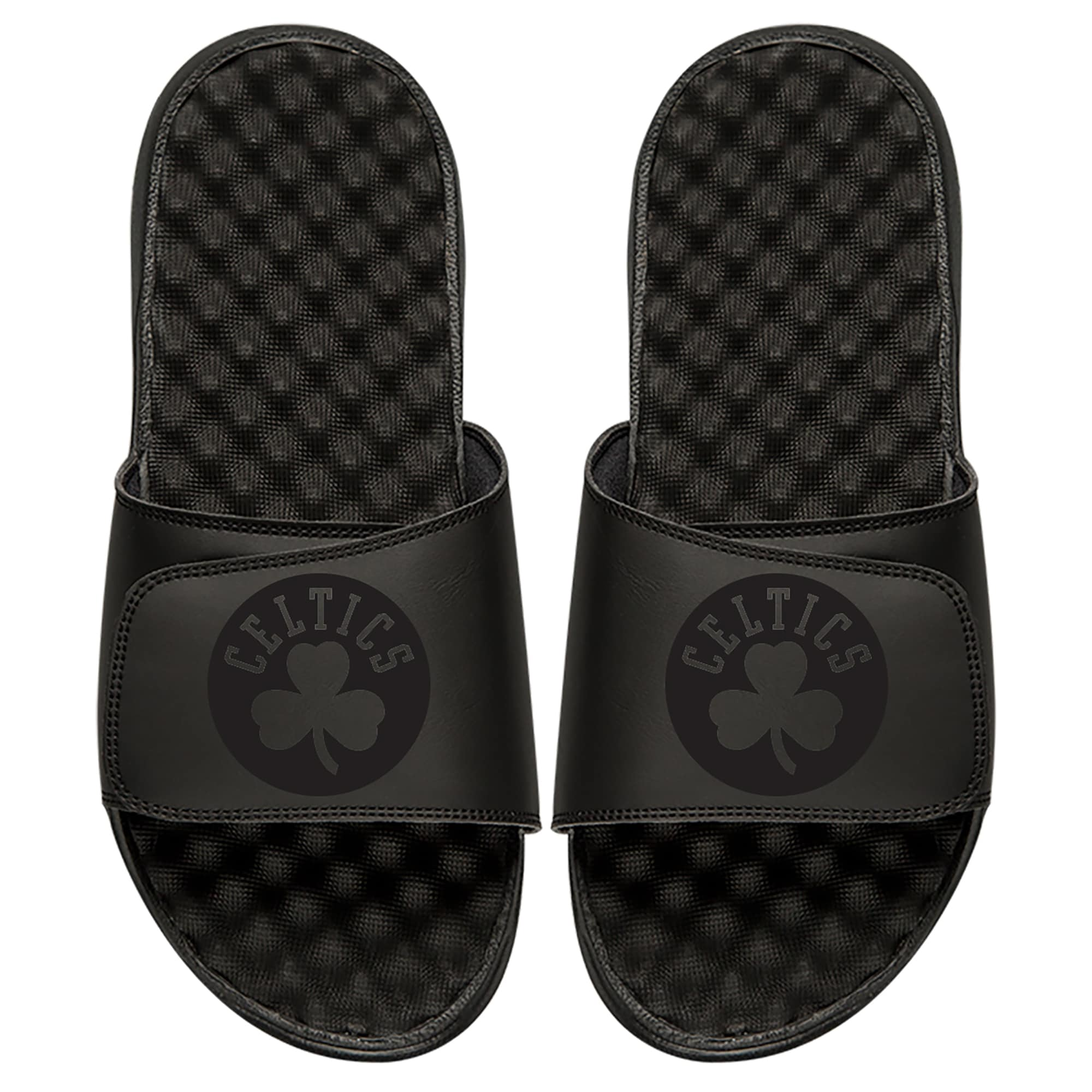 Boston Celtics ISlide Tonal Slide Sandals - Black