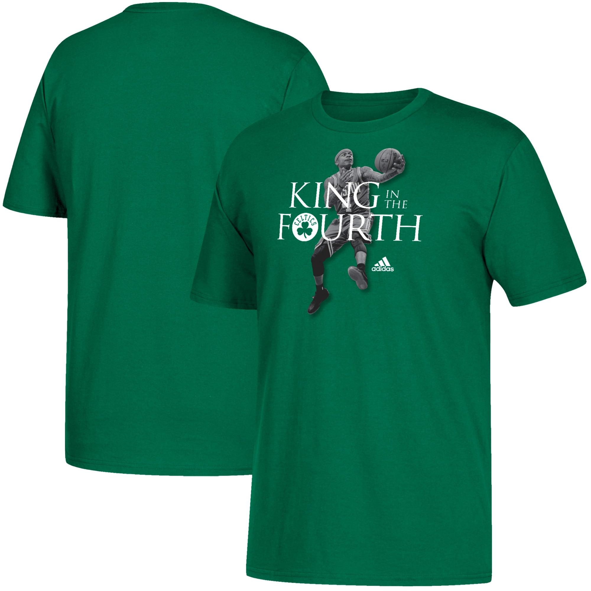 Isaiah Thomas Boston Celtics adidas King in the Fourth T-Shirt - Kelly Green
