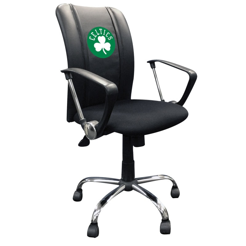 Boston Celtics Secondary Logo Curve Task Chair