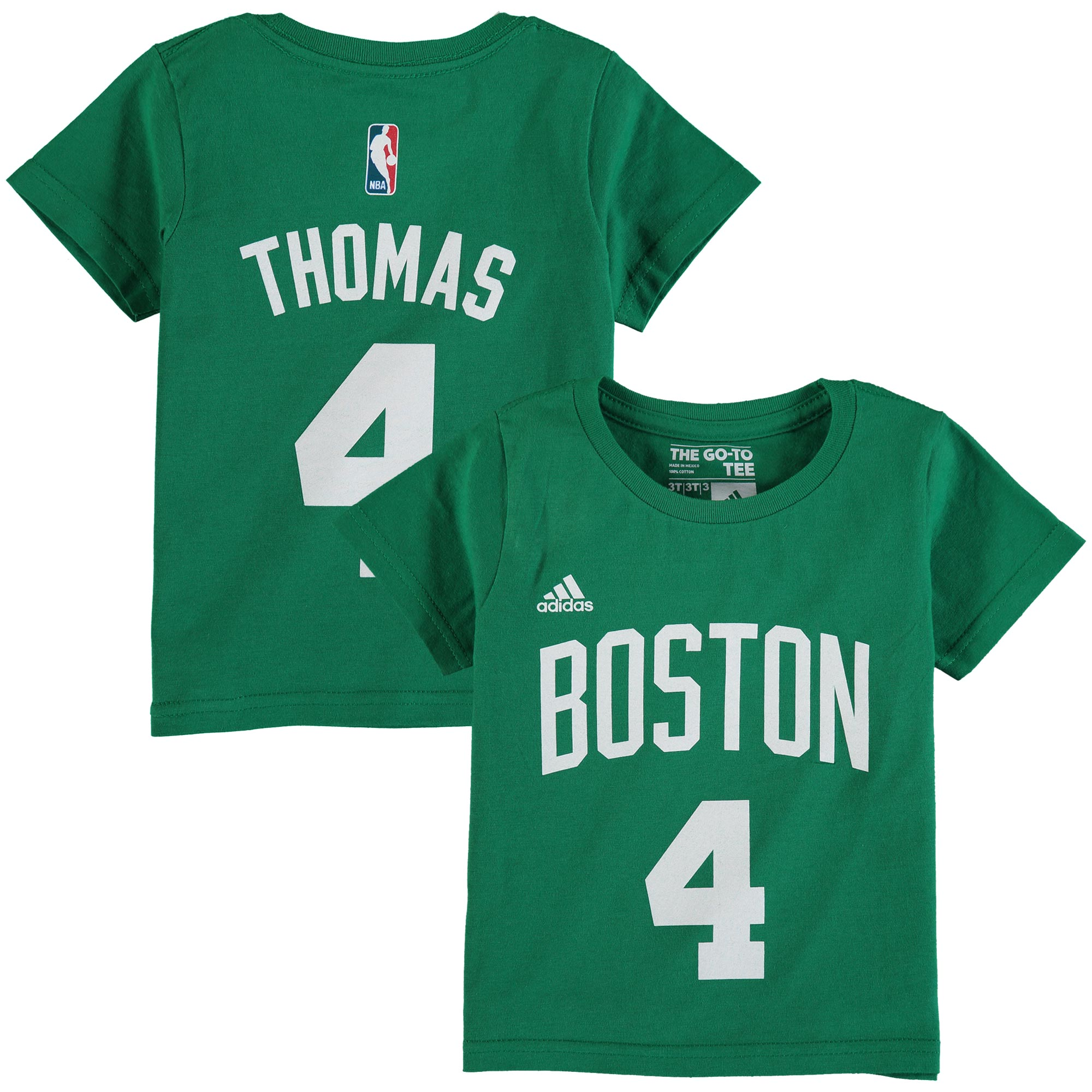 Isaiah Thomas Boston Celtics adidas Infant Name and Number T-Shirt - Green