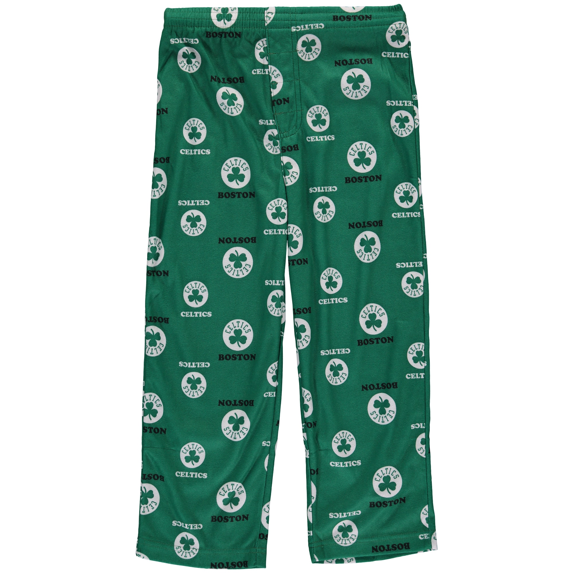 Boston Celtics Youth Team Color Printed Pant - Kelly Green