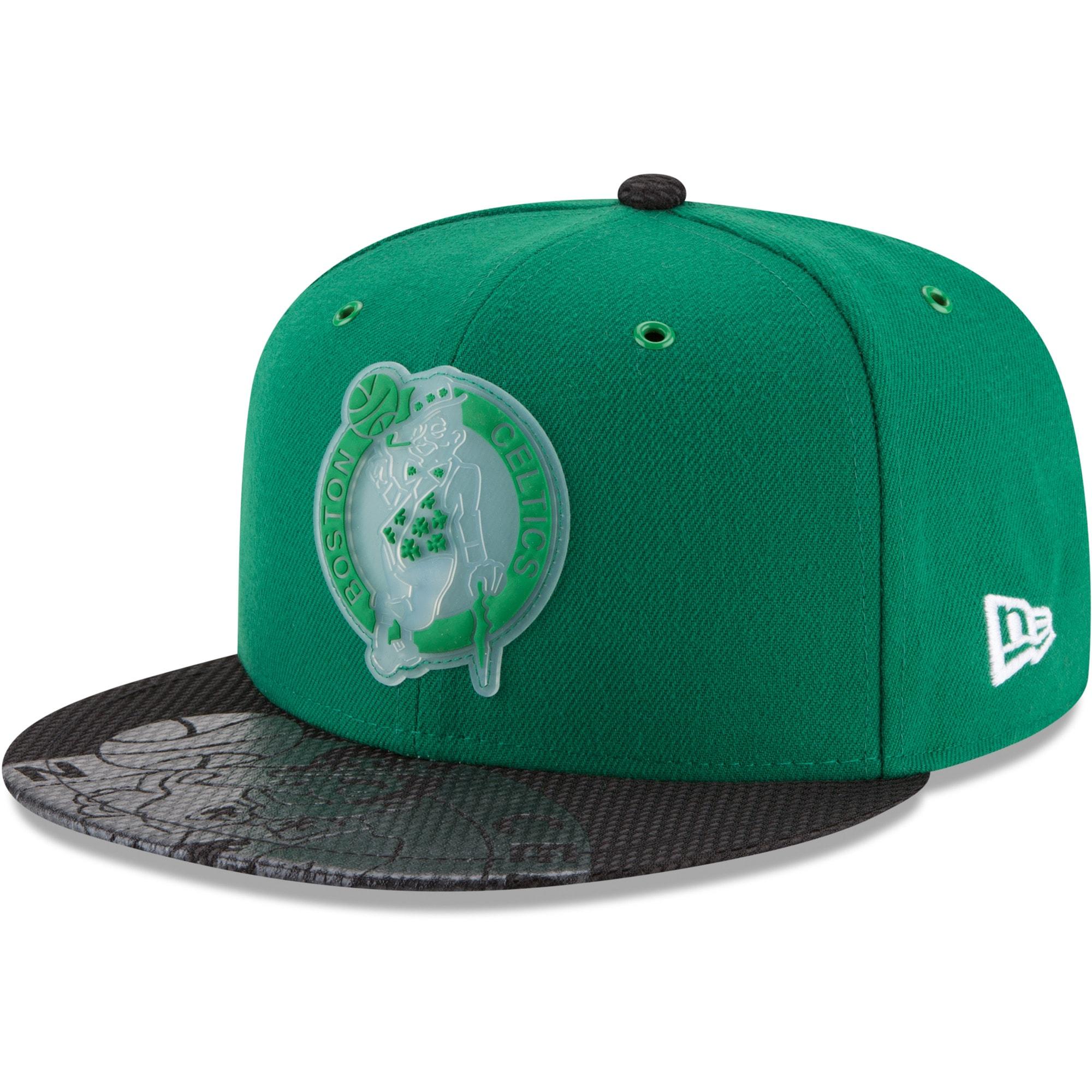 Boston Celtics New Era Team Color On-Court 9FIFTY Snapback Adjustable Hat - Kelly Green