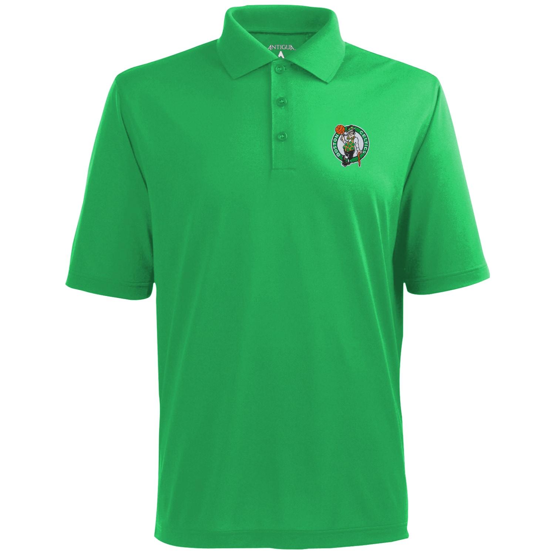 Antigua Boston Celtics Pique Xtra-Lite Performance Polo - Kelly Green