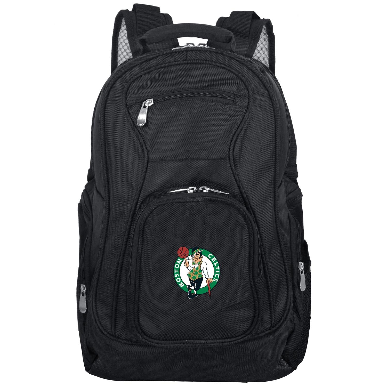 "Boston Celtics 19"" Laptop Travel Backpack - Black"