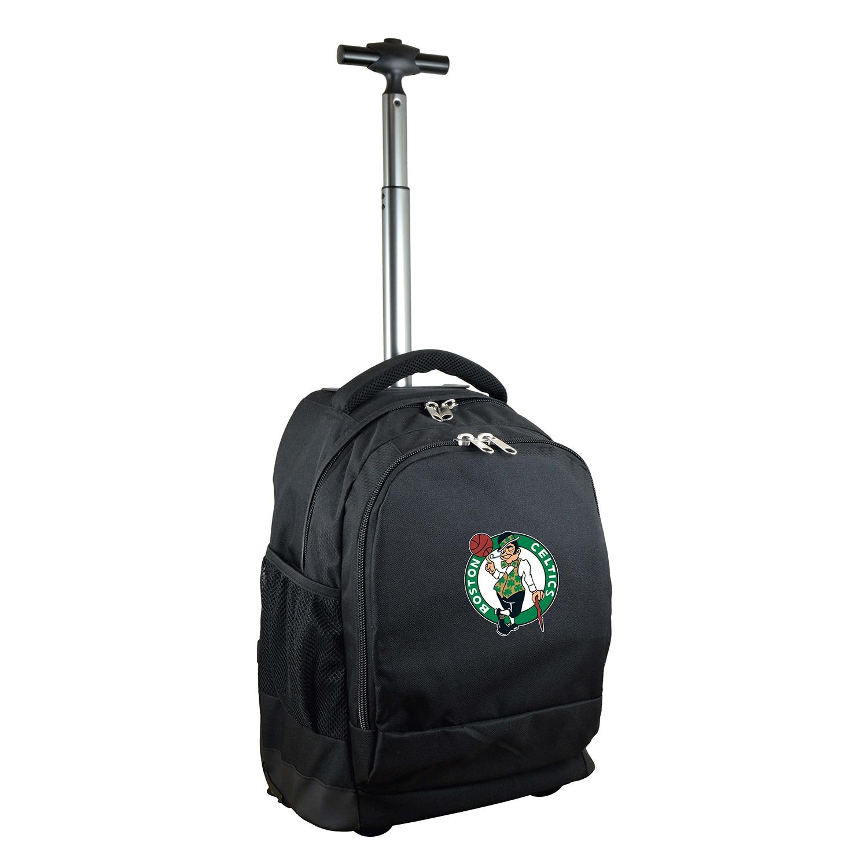 Boston Celtics 19'' Premium Wheeled Backpack - Black
