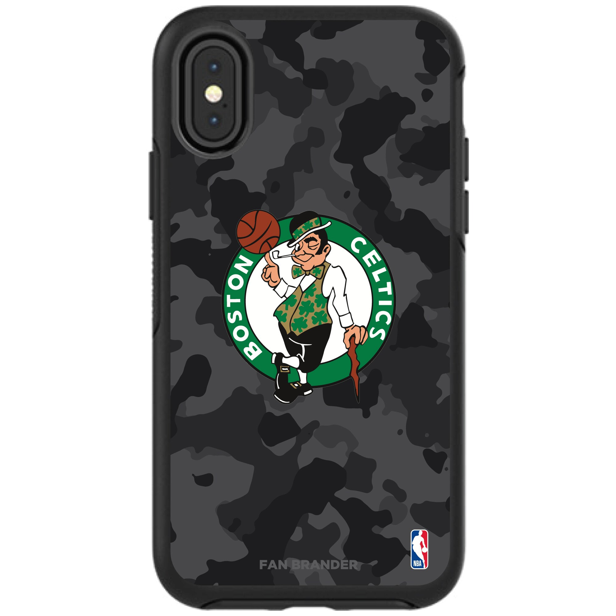 Boston Celtics OtterBox Urban Camo iPhone Case