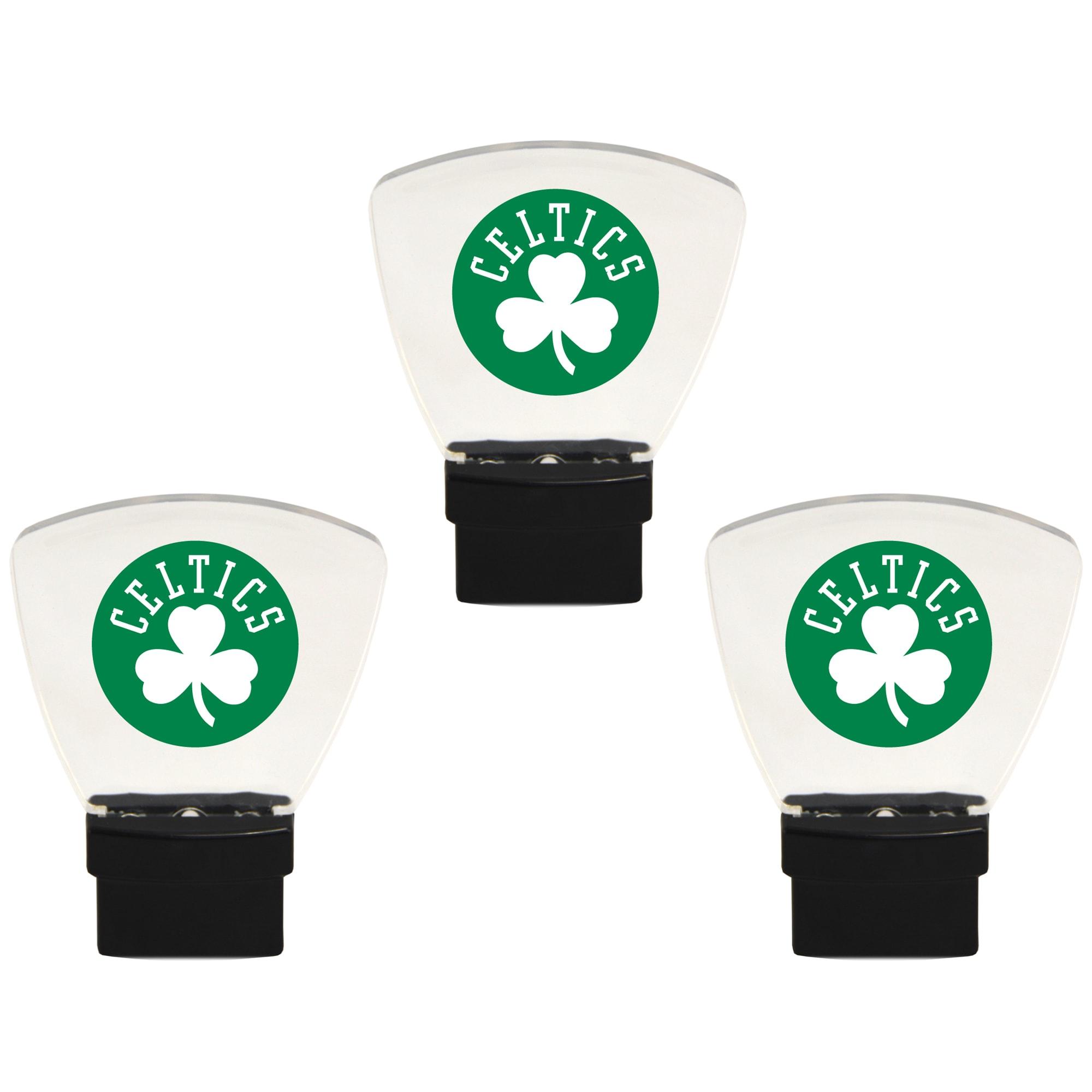 Boston Celtics 3-Pack Nightlight Bundle - Green