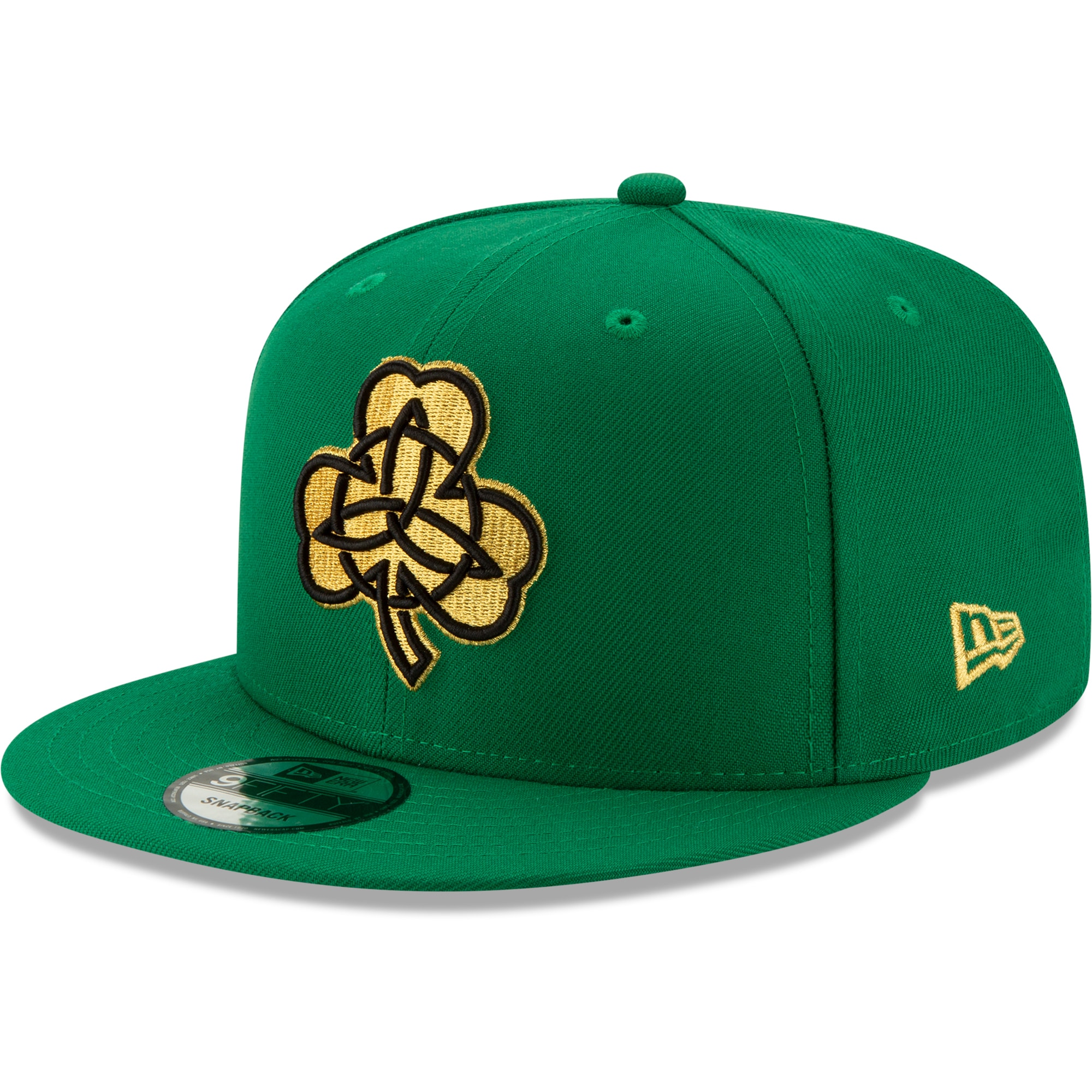 Boston Celtics New Era 2019/20 City Edition 9FIFTY Snapback Adjustable Hat - Green