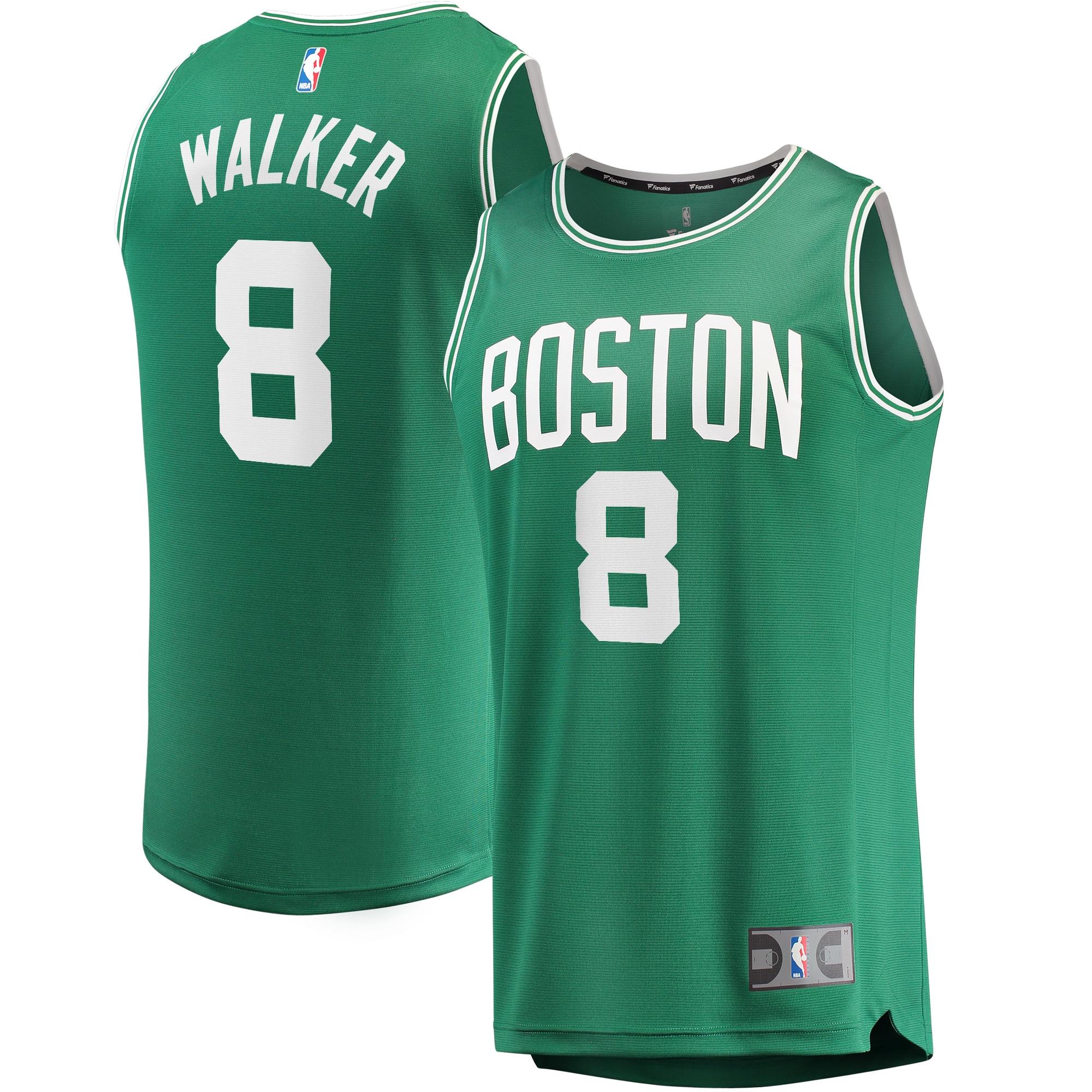 Kemba Walker Boston Celtics Fanatics Branded 2019/20 Fast Break Replica Jersey Kelly Green - Icon Edition