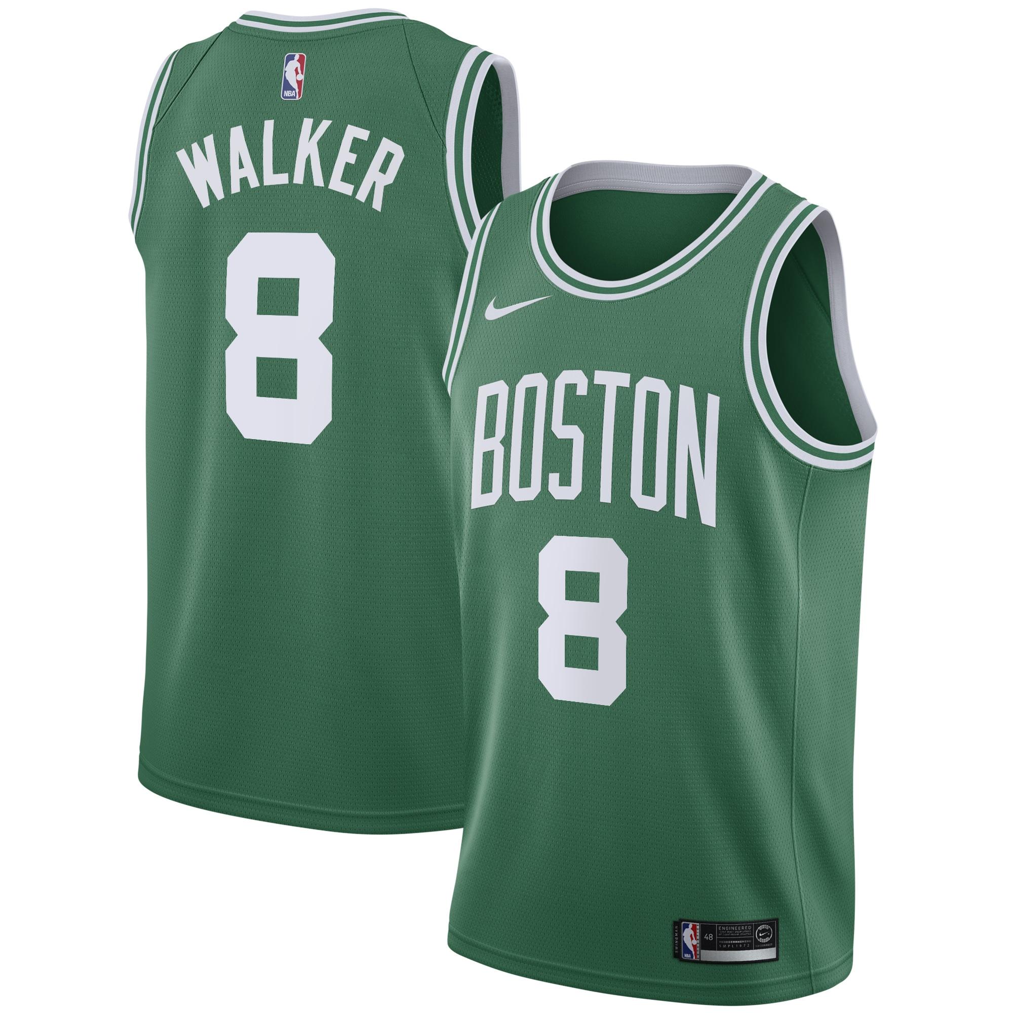 Kemba Walker Boston Celtics Nike 2019/20 Swingman Jersey Kelly Green - Icon Edition