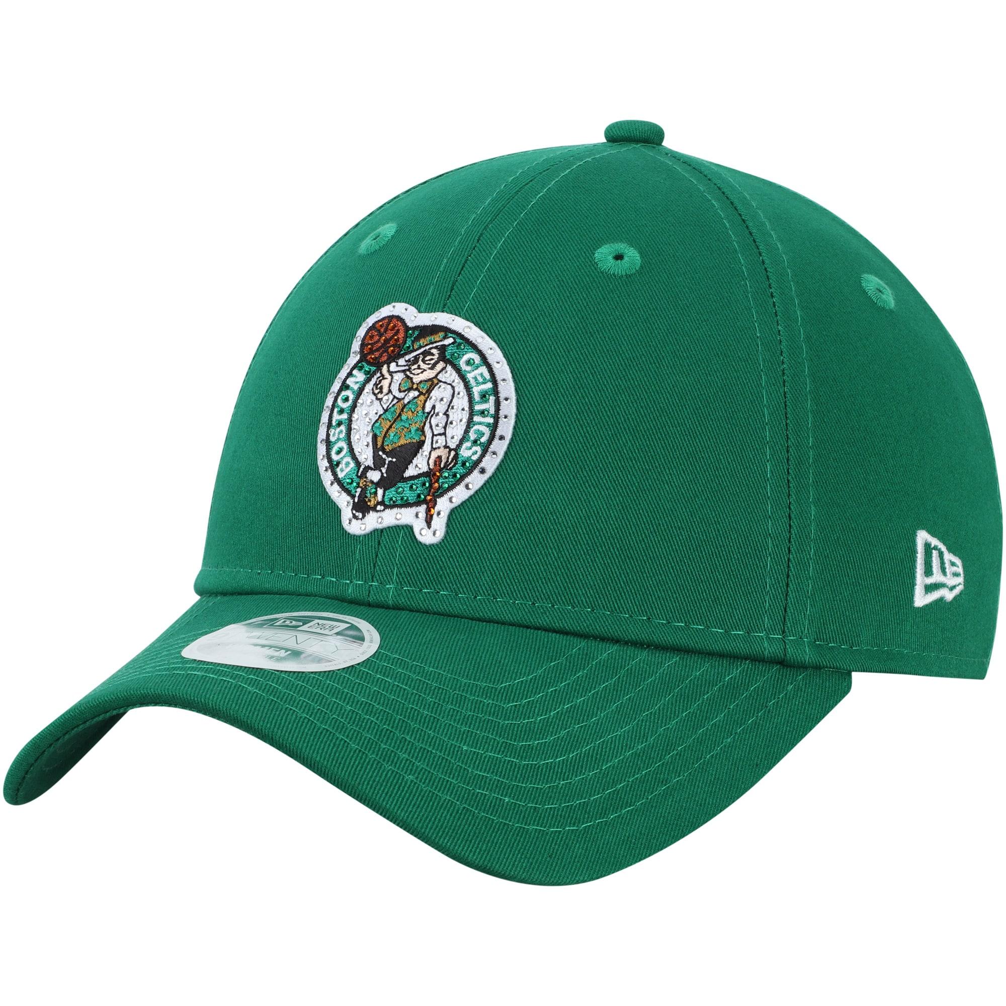 Boston Celtics New Era Women's Dazzle 9TWENTY Adjustable Hat - Green
