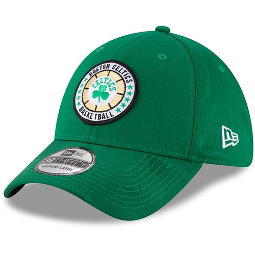 Boston Celtics New Era 2018 Tip Off Series 39THIRTY Flex Hat - Kelly Green