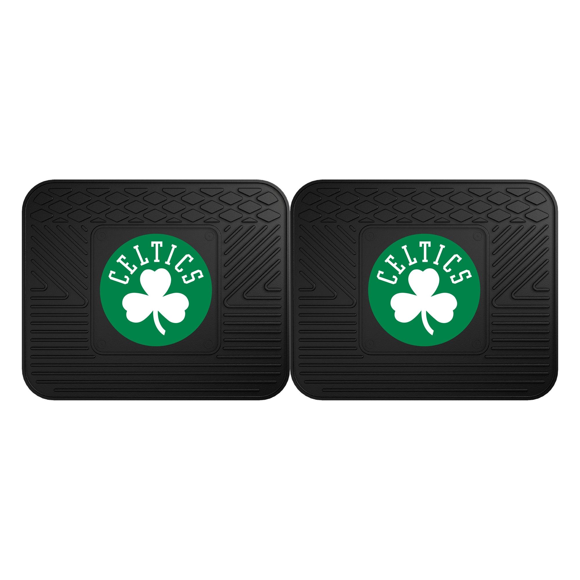 Boston Celtics 2-Pack Utility Mat Set