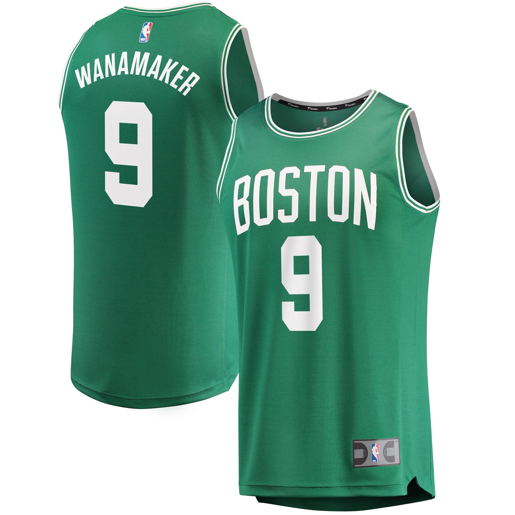 Brad Wanamaker Boston Celtics Fanatics Branded Fast Break Replica Jersey - Icon Edition - Kelly Green
