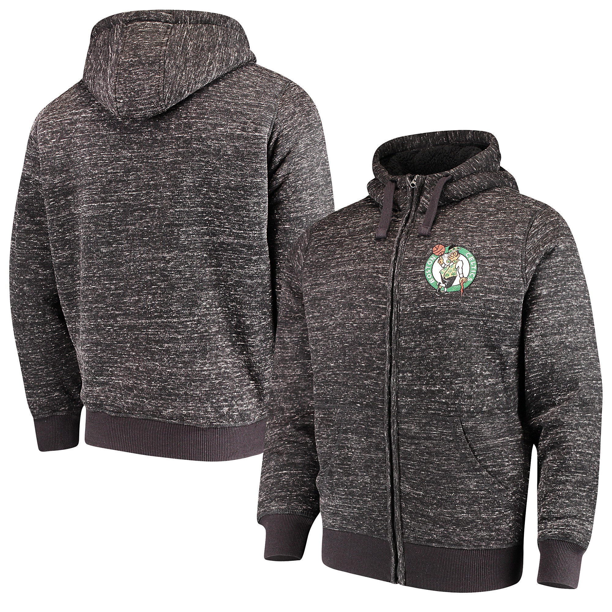 Boston Celtics G-III Sports by Carl Banks Discovery Transitional Full-Zip Jacket - Black