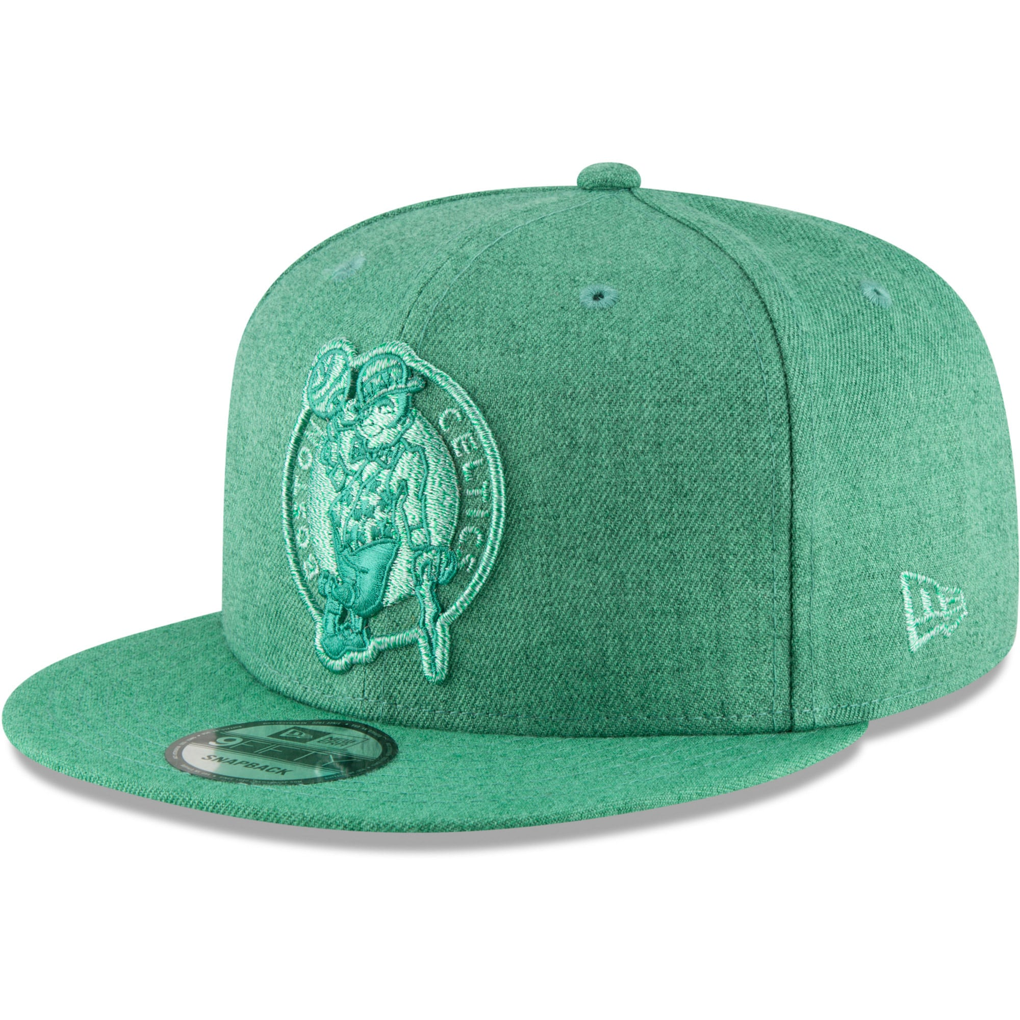 Boston Celtics New Era Twisted Frame 9FIFTY Adjustable Hat - Kelly Green