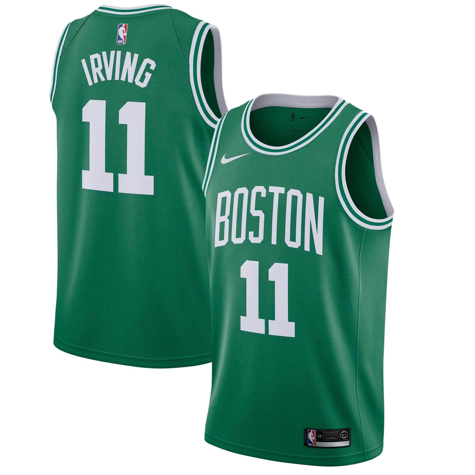 Kyrie Irving Boston Celtics Nike Swingman Jersey - Kelly Green - Icon Edition
