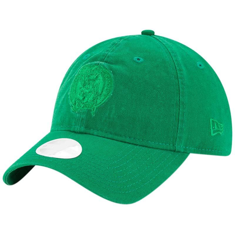 Boston Celtics New Era Women's Core Classic Tonal Team 9TWENTY Adjustable Hat - Kelly Green