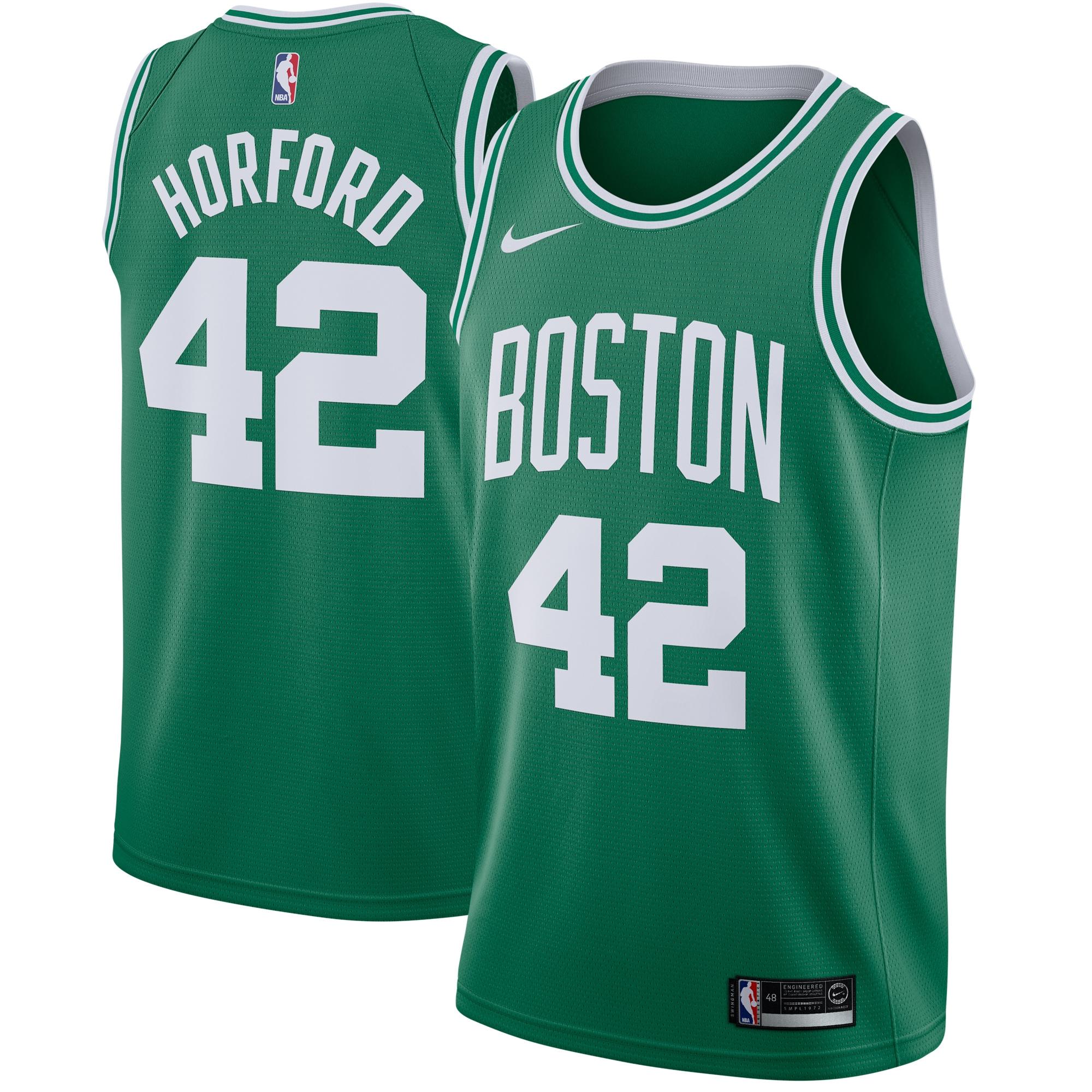 Al Horford Boston Celtics Nike Swingman Jersey Green - Icon Edition