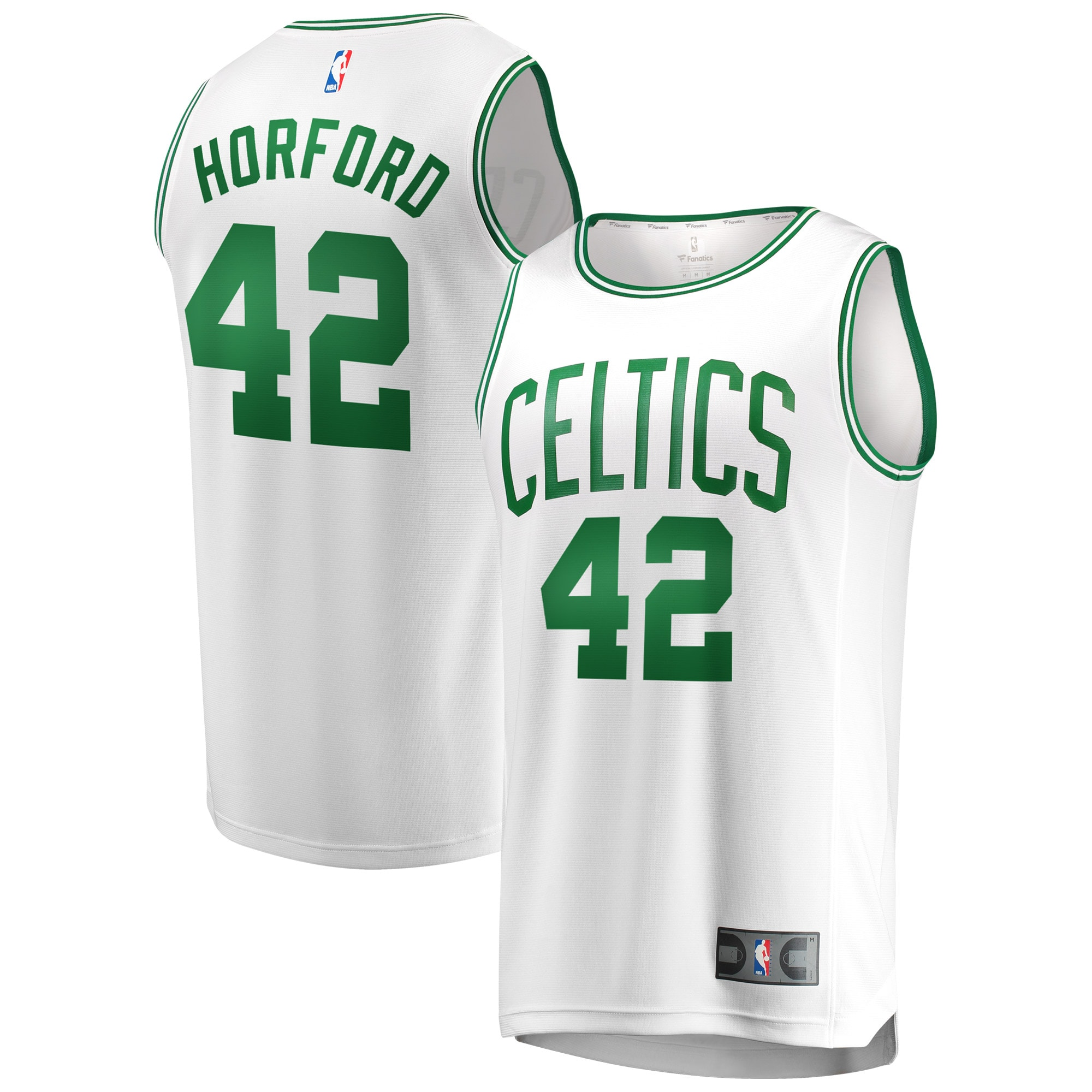 Al Horford Boston Celtics Fanatics Branded Fast Break Replica Jersey White - Association Edition