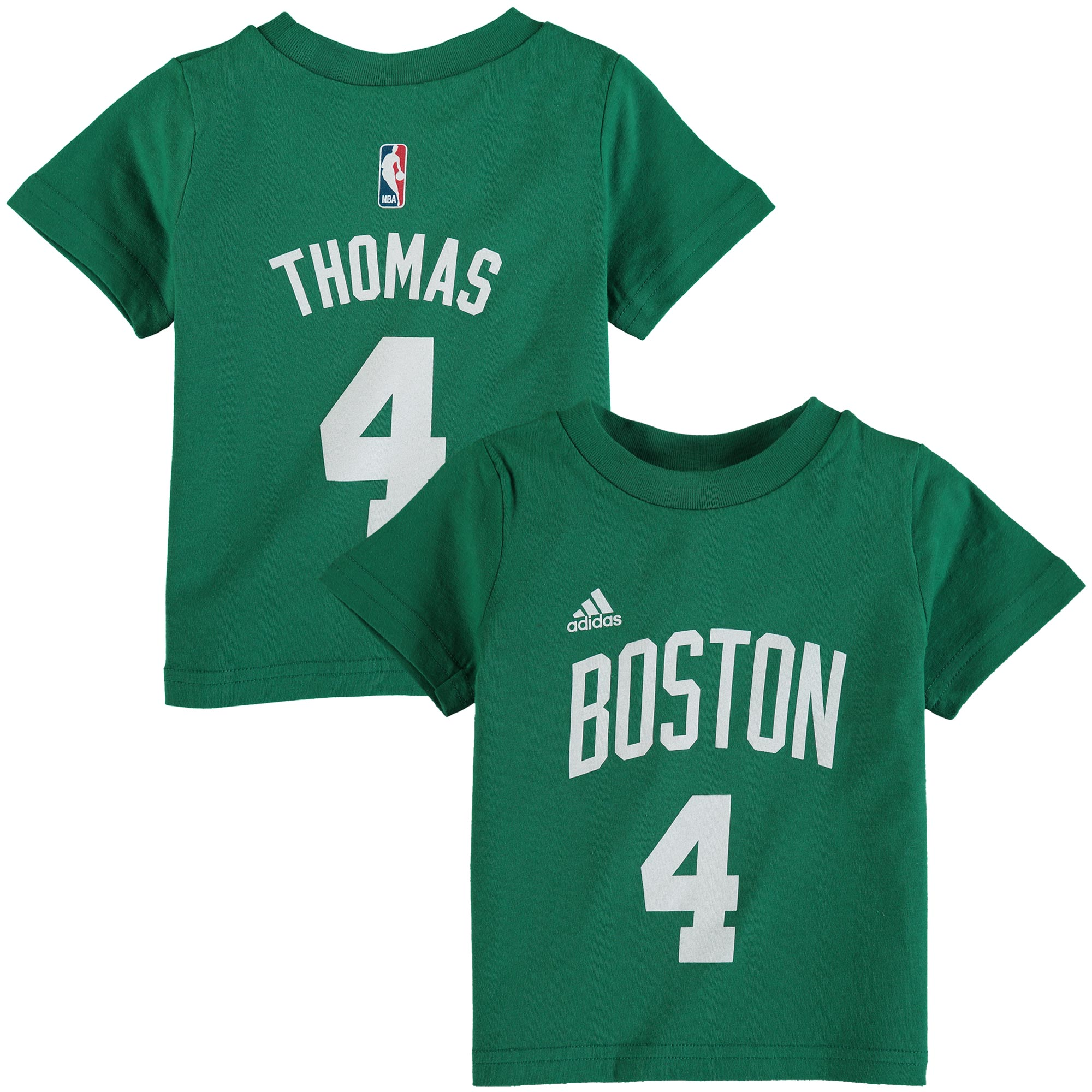 Boston Celtics adidas Toddler Name and Number T-Shirt - Green