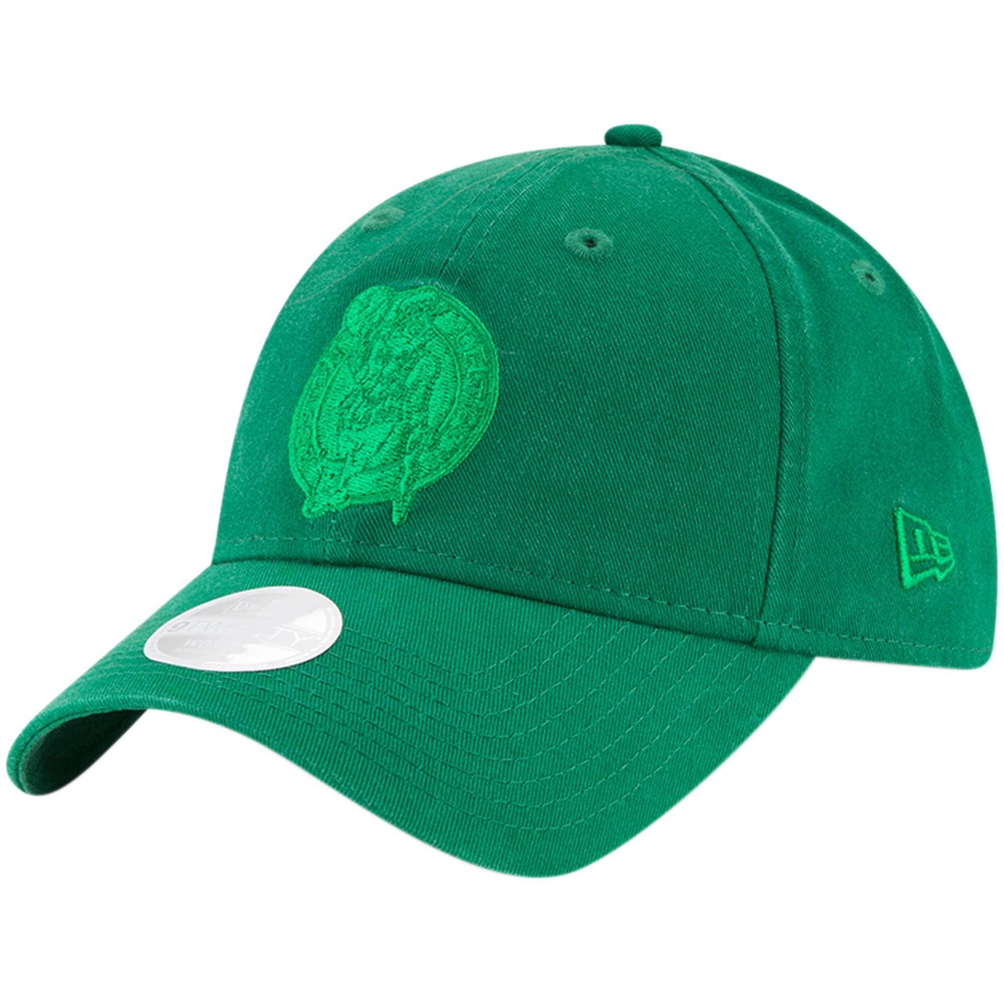 Boston Celtics New Era Women's St. Patrick's Day Core Classic 9TWENTY Adjustable Hat - Kelly Green