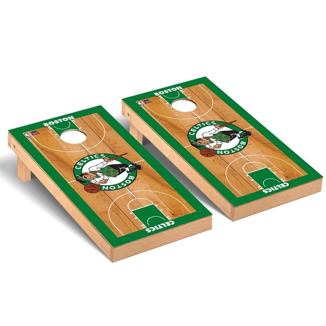 Boston Celtics 2' x 4' Court Cornhole Game Set