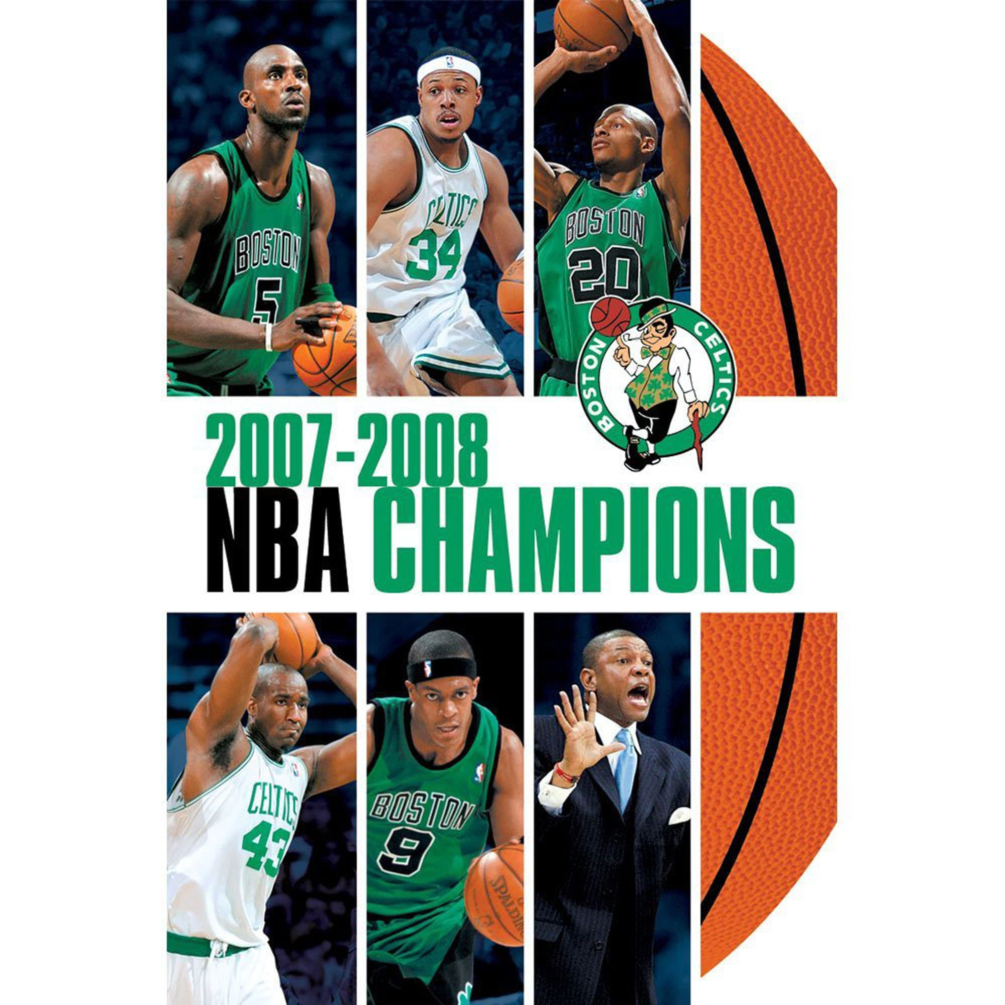 Boston Celtics 2008 NBA Champions DVD