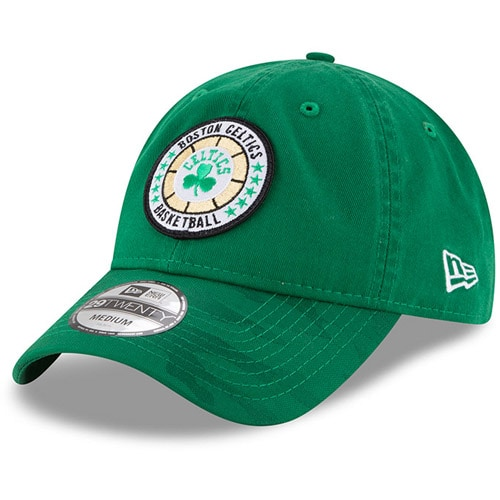 Boston Celtics New Era 2018 Tip Off Series 29TWENTY Fitted Hat - Kelly Green